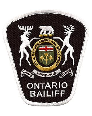 Ontario Bailiff :: B & S Emblem